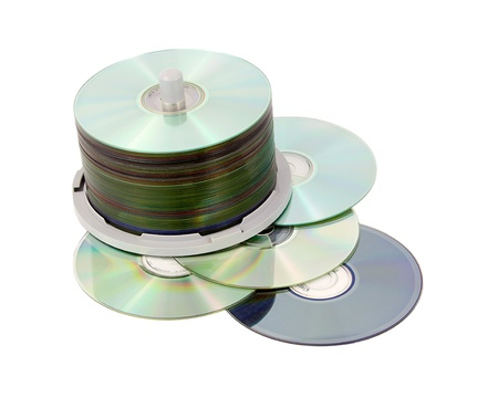 demonstrated: Multimedia data storage, different color of recording surfaces demonstrated