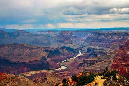 grand canyon national park: Grand Canyon in evening light