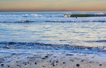 central california: Ocean beach near Bolinas, central California. Stock Photo