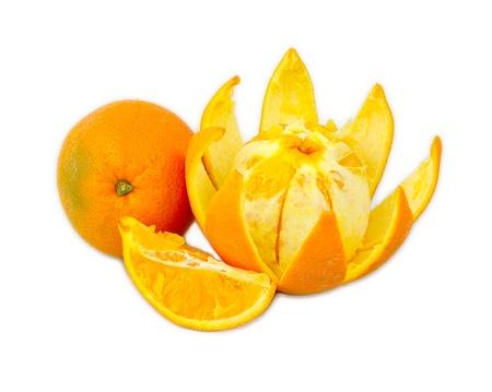 Orange cut similar to lotus flower shape stock photo picture and orange cut similar to lotus flower shape stock photo 18070172 mightylinksfo