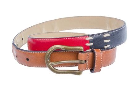 waistband: Composite waist belt isolated on white background.
