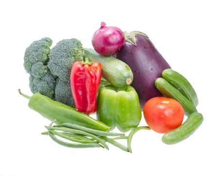 野菜は、白い背景で隔離。