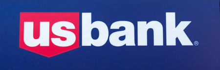 diversified: SACRAMENTO, USA - SEPTEMBER 13: US Bank sign on September 13, 2013 in Sacramento, California. U.S. Bancorp is an American diversified financial services holding company.  Editorial