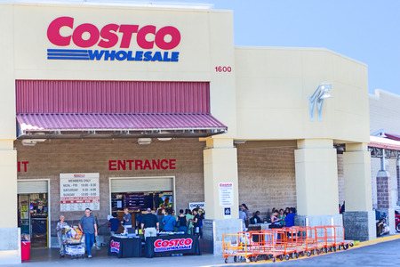 19: SACRAMENTO, USA - SEPTEMBER 19: Costco store on September 19, 2013 in Sacramento, California. Costco Wholesale is a membership-only warehouse club that provides a wide selection of merchandise.