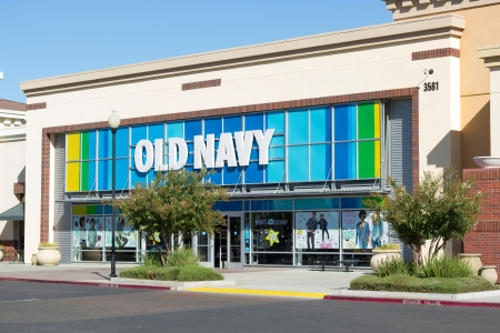 SACRAMENTO, USA - SEPTEMBER 23:  store on September 23, 2013 in Sacramento, California. Old Navy is a clothing and accessories retailer.