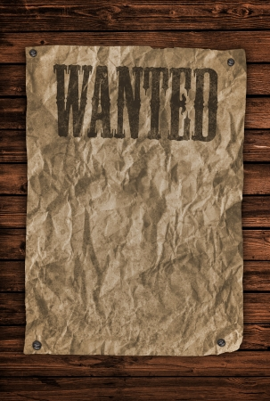 Wanted Sign photo