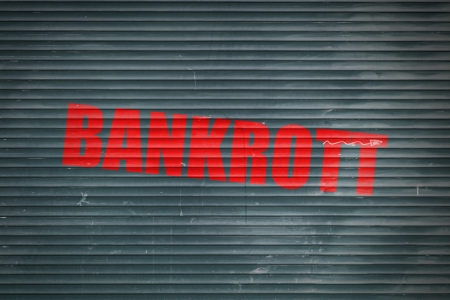 ende: Bankrott