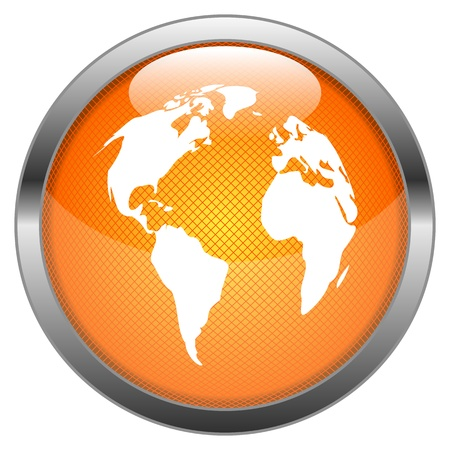 Button Globale Illustration