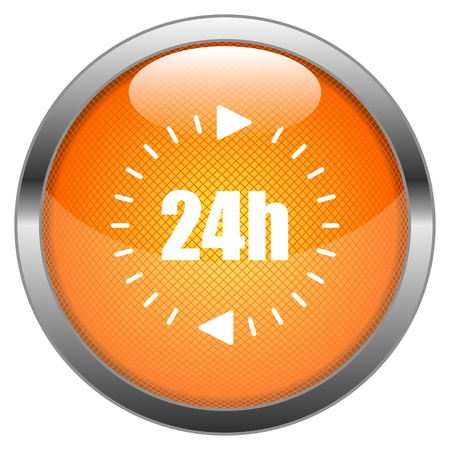 Button 24h Illustration