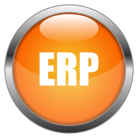 Button ERP Vector