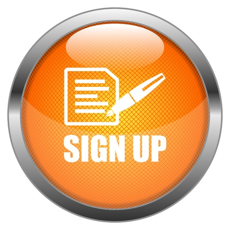 sign up button: Button Sign Up