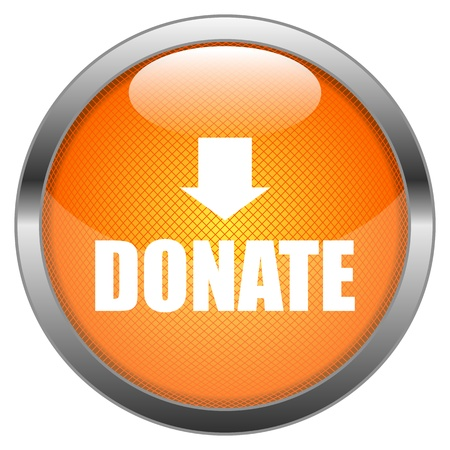 Button Donate Vector