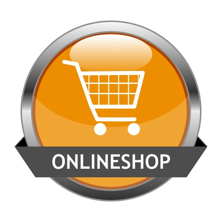 Button Onlineshop Vector