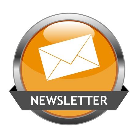 Button Newsletter Illustration