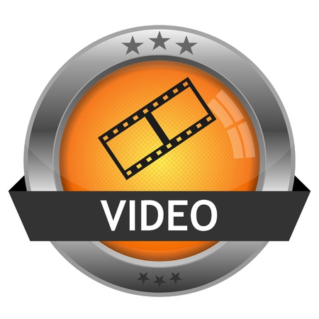 Button Video Vector