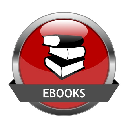 Button Ebooks Stock Vector - 16657813