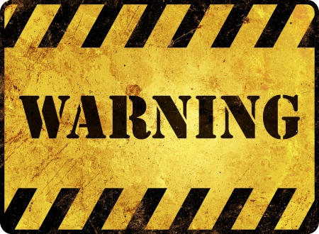 Warning Sign Stock Photo - 16761303