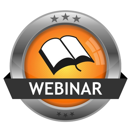 Button Webinar  Vector