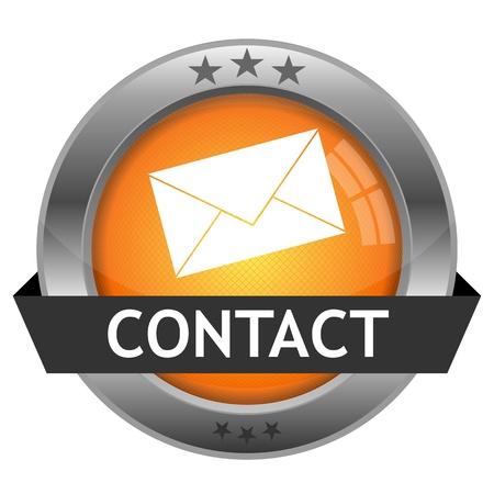 Button Contact Stock Vector - 16852580