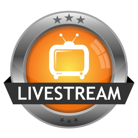 Button Livestream Illustration