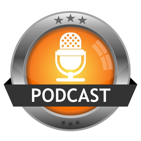 Button Podcast  Vector