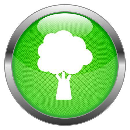 Button Tree Stock Vector - 16852498