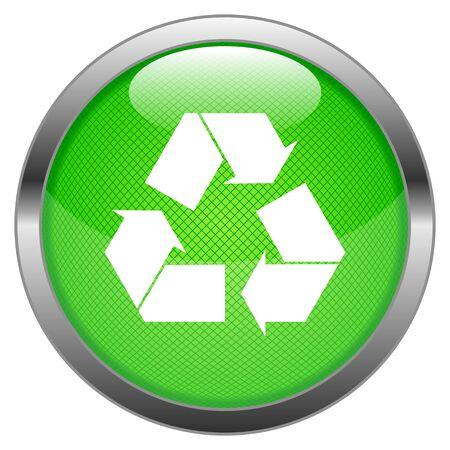 Button Recycling Stock Vector - 16852489