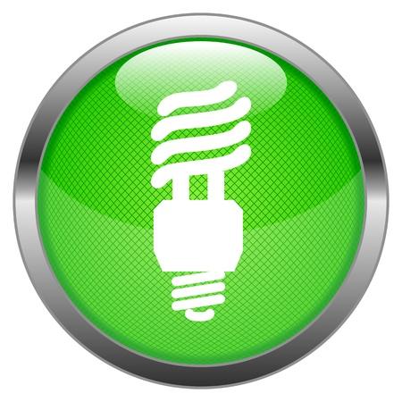 Button Energy Lamp  Stock Vector - 16852516