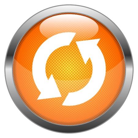 refrescarse: Vector Reload Button Vectores