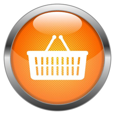 Vector Button Basket Stock Vector - 18387655