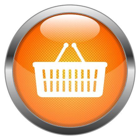 Vector Button Basket Stock Vector - 18387655