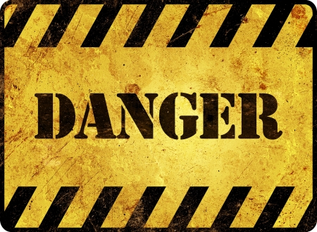 Danger Warning Sign