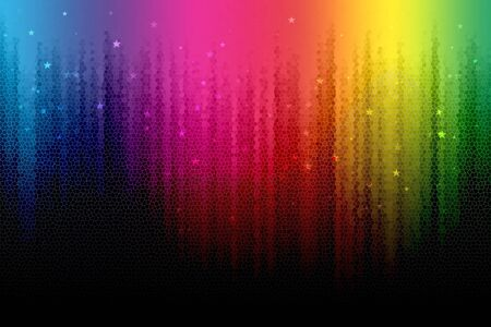 abstract digital rainbow background photo