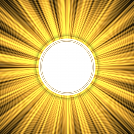golden grunge rays background