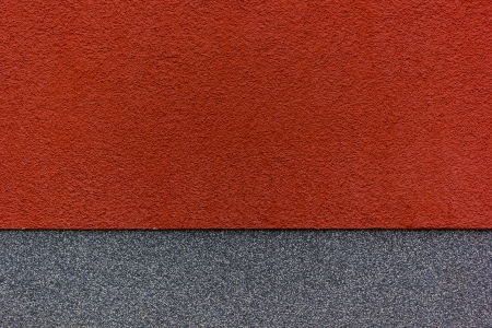 red and grey wall Standard-Bild