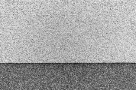 wall in black and white