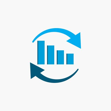Economic icon. Design vector illustration