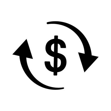 Business economic symbol Иллюстрация