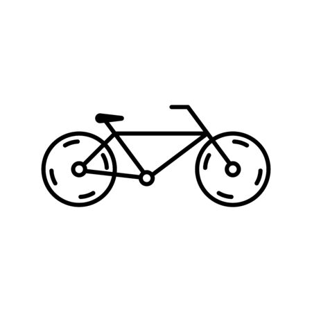 Bicycle icon. Design template