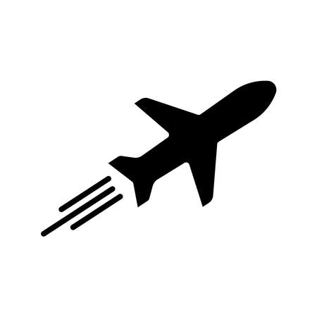 Tour and travel, airplane icon. Design template vector
