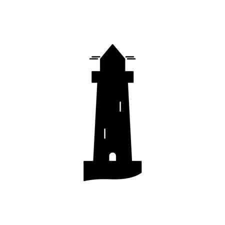 Beach tower icon. Design template vector