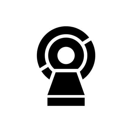 Magnetic resonance imaging (MRI) icon. Design template vector