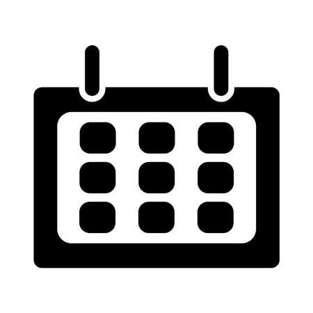 calendar icon. simple design editable. design vector illustration Illusztráció