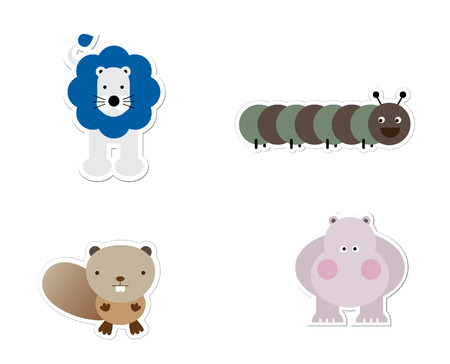 Dierlijke Stickers