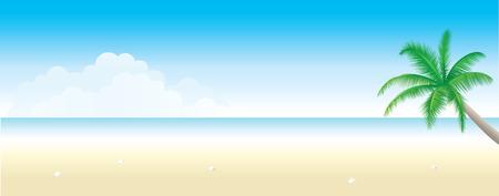 Achtergrond van het exotische strand