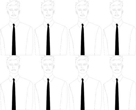 Man met black tie achtergrond afbeelding
