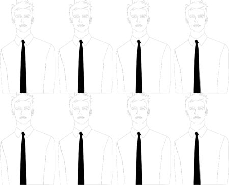 Man With Black Tie Background Image