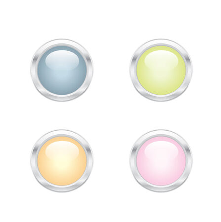 Candy Color Web 2.0 Buttons