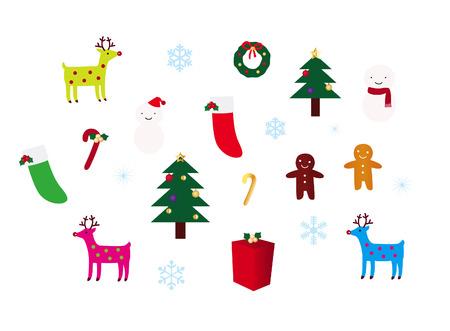 Kerst decoratie instellen