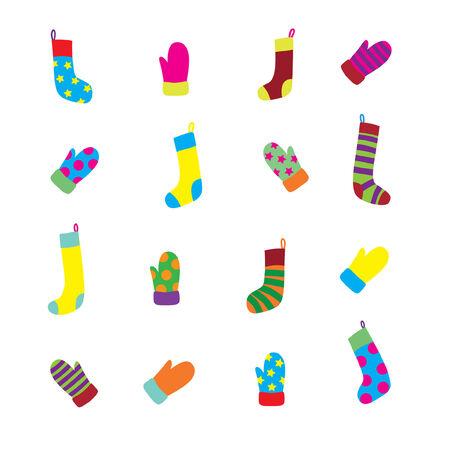 Sock and Glove Set